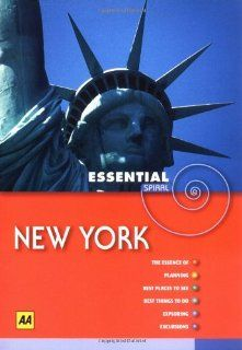 AA Essential Spiral New York (AA Essential Spiral Guides): AA Publishing: 9780749549657: Books