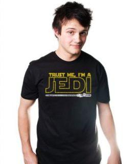 Trust Me I'm A Jedi T Shirt Funny Star Sci Fi TEE Knight Wars Humor Yoda Clothing