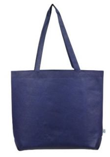 Non woven ECO All Purpose Open Tote Bag, Navy Blue by BAGS FOR LESSTM Clothing