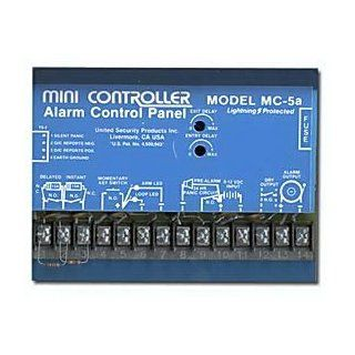 United Security Products MC 5A 4 Zone Alarm Control Panel : Home Security Systems : Camera & Photo