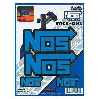 NOS Blue Stick Onz Decal: Automotive