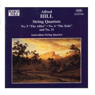 HILL String Quartets Nos. 5, 6 and 11 Music