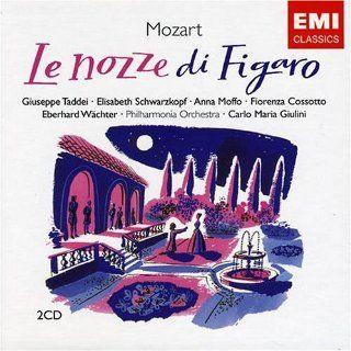 Mozart: Le Nozze di Figaro (The Marriage of Figaro)    Elisabeth Schwarzkopf, Anna Moffo, Giuseppe Taddei, Carlo Maria Giulini, Philharmonia Orchestra & Chorus: Music