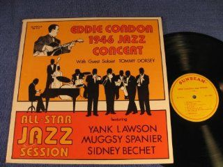 All Star Jazz Session; Eddie Condon 1946 Jazz Concert; 1981 Vinyl LP: Music