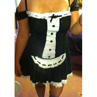 Secret Wishes Sexy Dust Bunny Maid Costume: Clothing