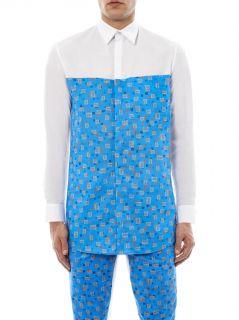 Carpet print cotton shirt  Agi & Sam