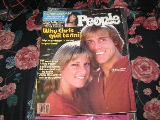 People Weekly (Chris Evert Lloyd & John Lloyd, Why She Quit Tennis, Donna SummerMusic's Bad Girl, David Letterman, February 4, 1980): Lilias FolanTV Yoga Guru: Books