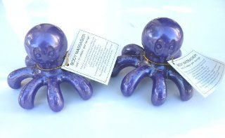 2 pcs/Set Octopus Hand Held Massage Tool Gorgeous Colors Octopus Hand Held Easy to Hold. The Best Both Functional and Decoration, Purple & Hot Pink Assorted,Super Saving,Satisfaction Guaranteed !(Please Be Noted That These Tools Are Not A Battery Opera