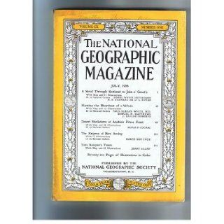 The National Geographic Magazine July, 1956: Multiple Authors.: Books
