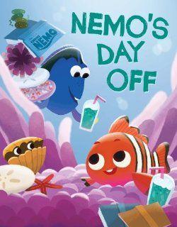 Finding Nemo Nemo's Day Off Catherine Daly, Joey Chou 9781423168188  Children's Books