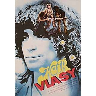 Hair 1980 Original Czech Republic A3 Movie Poster Milos Forman John Savage: John Savage, Treat Williams, Beverly D'Angelo, Annie Golden: Entertainment Collectibles