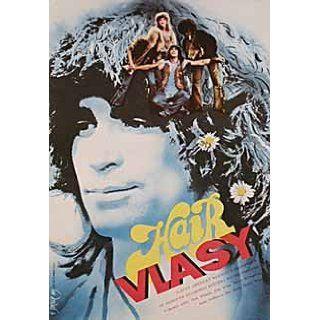 Hair 1980 Original Czech Republic A3 Movie Poster Milos Forman John Savage: John Savage, Treat Williams, Beverly D'Angelo, Annie Golden: Entertainment Collectibles