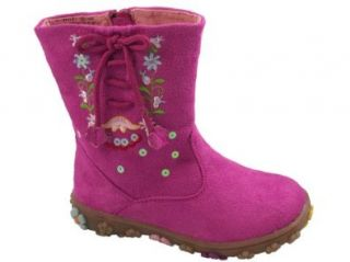 Laura Ashley Toddler Girl's Boots Floral Fuchsia (5 (Fits as Size 4.5)): Shoes: Shoes