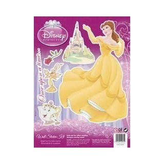 Disney Princess Wall Sticker Kit   Once Upon a Time(Belle) Toys & Games