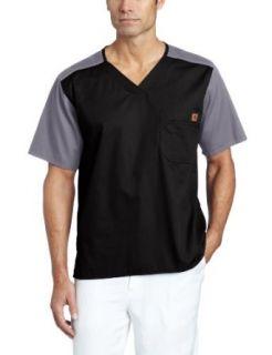 Carhartt Men's Color Block Utility Scrub Top Clothing