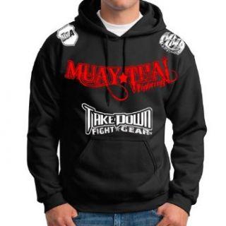 Muay Thai Fighting Jiu Jitsu Stryker Fight Gear Hoodie Jacket Jumper MMA UFC W * Clothing