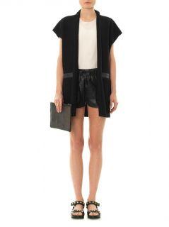 Double layer silk blouse  Anne Vest