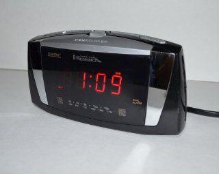 Emerson Radio CKS5055B SmartSet Dual Alarm Clock Radio with Large LED Display (Black) Electronics