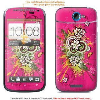 "Protective Decal Skin Sticker for T Mobile HTC ONE S "" T Mobile version"" case cover TM_OneS 297: Cell Phones & Accessories"