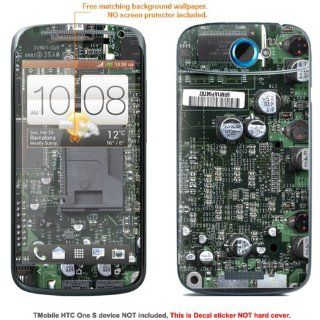 "Protective Decal Skin Sticker for T Mobile HTC ONE S "" T Mobile version"" case cover TM_OneS 315: Cell Phones & Accessories"