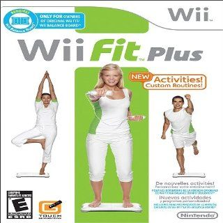 Wii Fit Plus   Software Only: Video Games