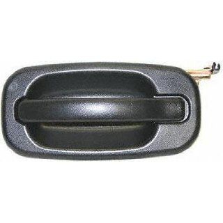 00 05 CHEVY CHEVROLET TAHOE REAR DOOR HANDLE LH (DRIVER SIDE) SUV, Outside, Black (2000 00 2001 01 2002 02 2003 03 2004 04 2005 05) C491310 15721571: Automotive