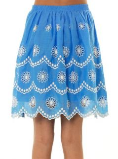 Daisy dots embroidered skirt  Collette by Collette Dinnigan