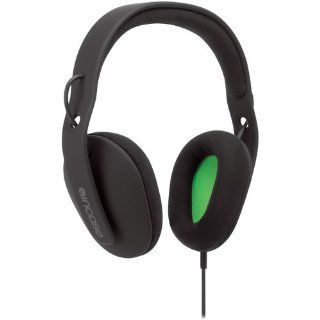 Incase EC30001S Sonic Around Ear Stereo Headphones (Black / Fluorescent Green) Electronics