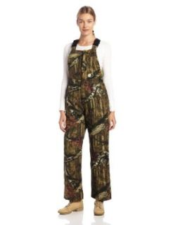 Mossy Oak Women's Ladies Insulation Bib Overall: Clothing