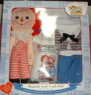 Raggedy Andy Craft Build Your Own Doll Kit: Toys & Games