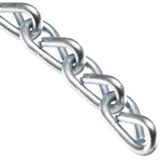 "Campbell 0721627 Low Carbon Steel Double Jack Chain, Zinc plated, #16 Trade, 0.06"" Diameter, 11 lbs Load Capacity, 200 Feet Reel: Coil Chains: Industrial & Scientific"