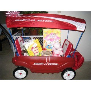 Radio Flyer Ultimate Comfort Wagon: Toys & Games