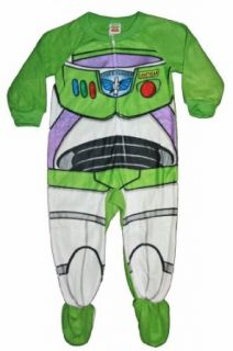 Toy Story Buzz Lightyear Toddler Footed Pajama (2T) Clothing