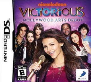 Victorious Hollywood Arts Debut   Nintendo DS Video Games