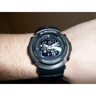 Casio Men's G300 3AV G Shock Ana Digi Black Street Rider Watch at  Men's Watch store.