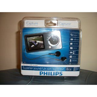Philips GoGear Cam 8 GB MP3 Player (Silver) : MP3 Players & Accessories