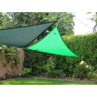 Coolaroo Party Sail 9 Feet 10 Inch Triangle   Blue : Shade Sails : Patio, Lawn & Garden