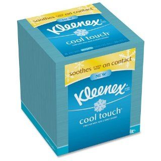 KIMBERLY CLARK PROFESSIONAL* Cool Touch Facial Tissue, 3 Ply, 50 Sheets per Box, 1 per Box: Health & Personal Care