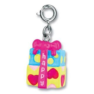 "CHARM IT! ""Happy Birthday"" Present Charm: Jewelry"