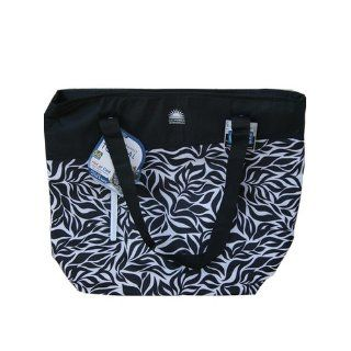California Innovations High Performance Thermal Tote 56 Can Cooler Bag for Hot or Cold   Black/white : Camping Coolers : Patio, Lawn & Garden
