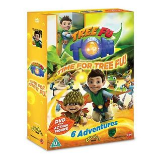 DVD Tree Fu Tom   Time For Tree Fu   Special Pack With Toy