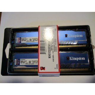 Kingston Technology HyperX Blu 8GB 1333MHz DDR3 Non ECC CL9 DIMM (Kit of 2) KHX1333C9D3B1K2/8G: Electronics