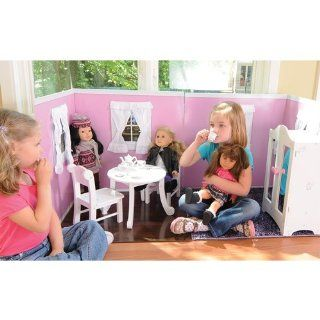 Today's girl room provides playspace for 18 in doll: Toys & Games