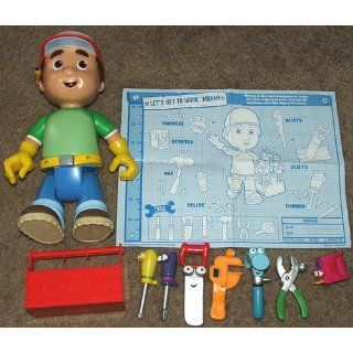 Fisher Price Disney Let's Get to Work Manny Toys & Games