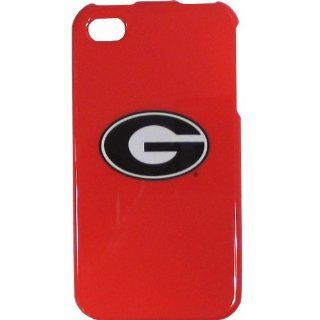 Georgia Bulldogs NCAA for Apple iPhone 4 4S Faceplate Hard Protector Snap On Case Cover fits Sprint, Verizon, AT&T Wireless: Cell Phones & Accessories