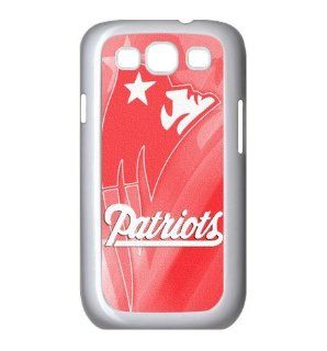 Fitted Samsung Galaxy S3 Cases Women's Day present NFL Patriots logo back covers: Cell Phones & Accessories