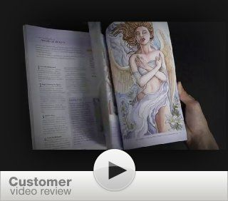 Angelic Visions: Create Fantasy Art Angels With Watercolor, Ink and Colored Pencil.: Angela R. Sasser: 9781600619533: Books