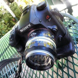 Fotodiox Lens Mount Adapter, Nikon Lens to Sony Alpha A Mount Camera, for Sony A100, A200, A230, A290, A300, A330, A350, A380, A390, A450, A500, A550, A560, A580, A700, A850, A900, SLT A35, A33, A37, A55, A57, A65, A77, Minolta Maxxuum 5D, 7D, 7, 9xi, 7xi,