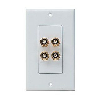 Niles 5W 4D White (FG00380) Four 5 Way to 5 Way Connectors: Electronics