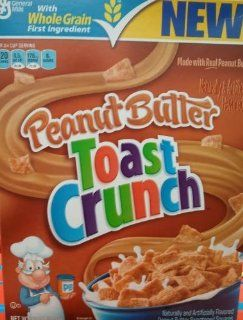 General Mills, Peanut Butter Toast Crunch, 12oz Box (Pack of 4) : Breakfast Cereals : Grocery & Gourmet Food
